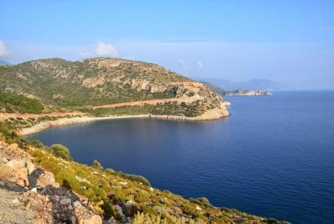 A cove on Datça Peninsula, Turkey