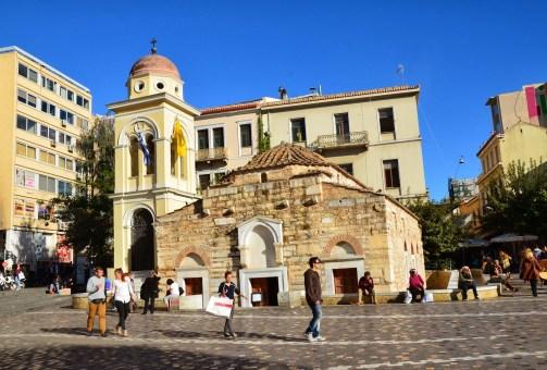 Pantanassa Church in Athens, Greece