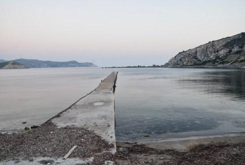 Harbor at Knidos on Datça Peninsula, Turkey