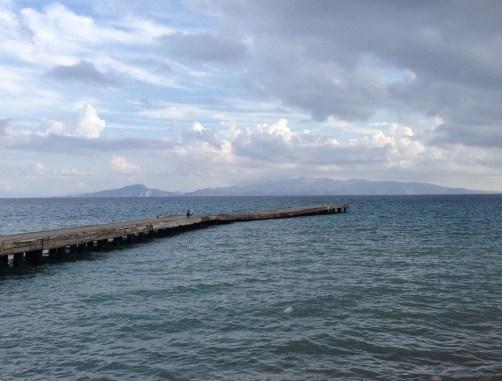 View of Symi from Datça in Datça, Turkey