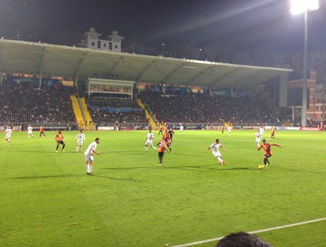 One of the flag-free moments at Kasımpaşa vs Galatasaray at Recep Tayyip Erdoğan Stadyumu, İstanbul, Turkey
