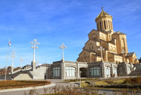 Sameba Cathedral in Tbilisi, Georgia