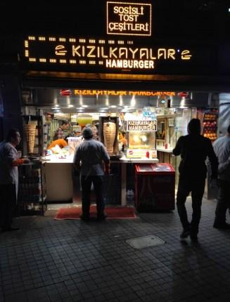 Kızılkayalar at Taksim Meydanı in İstanbul, Turkey