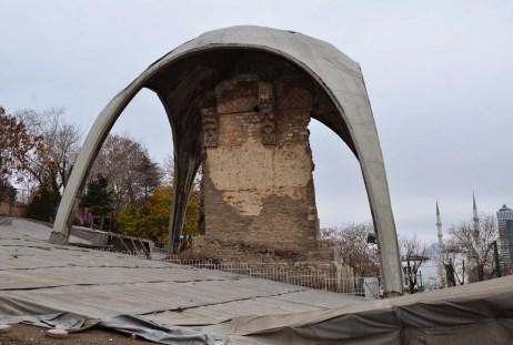 Kılıçarslan Sarayı in Konya, Turkey