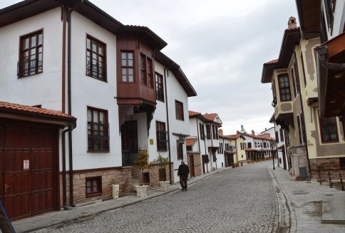 Mengüc Caddesi in Konya, Turkey