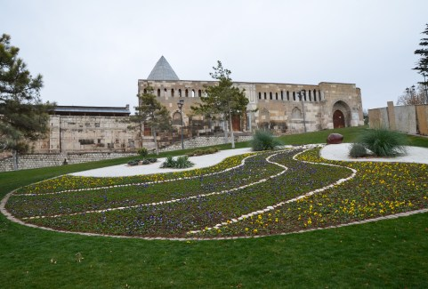 Garden in Konya, Turkey
