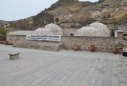 Museum and art gallery in Sille, Turkey
