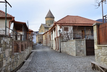 Old town in Mtskheta, Georgia