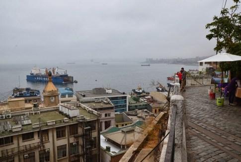Paseo Gervasoni in Valparaíso, Chile