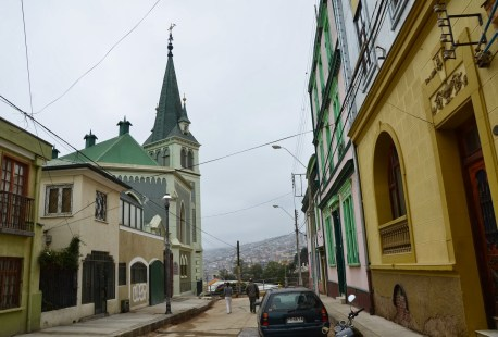 German Lutheran Church in Valparaíso, Chile