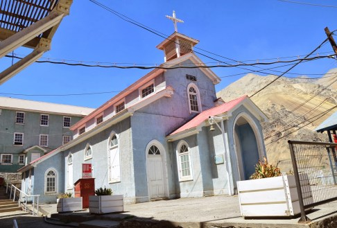 Church at Sewell Mining Town, Chile