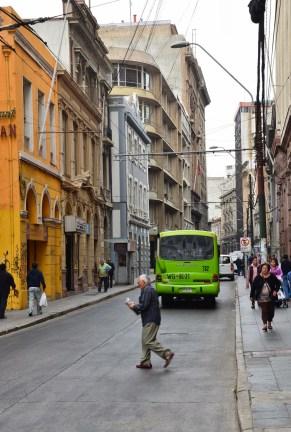 Calle Prat in Valparaíso, Chile