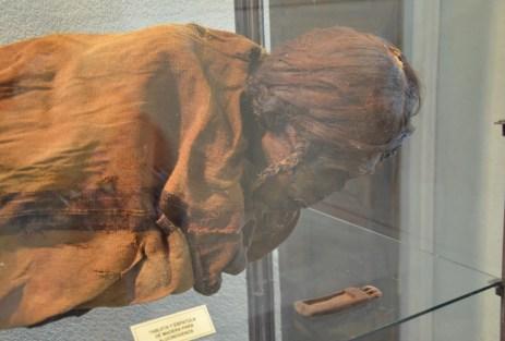 Mummy in La Serena, Chile