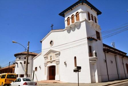 Church in Santa Cruz, Chile