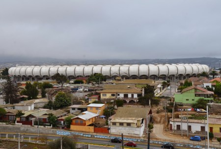 Estadio Francisco Sánchez Rumoroso in Coquimbo, Chile