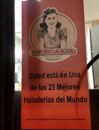 Emporio La Rosa in Santiago de Chile