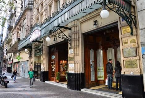 Café Tortoni in Buenos Aires, Argentina
