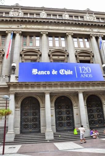 Banco de Chile in Santiago de Chile