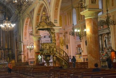 Basílica de la Merced in Santiago de Chile