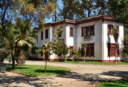 Museo Ferroviario at Parque Quinta Normal in Santiago de Chile