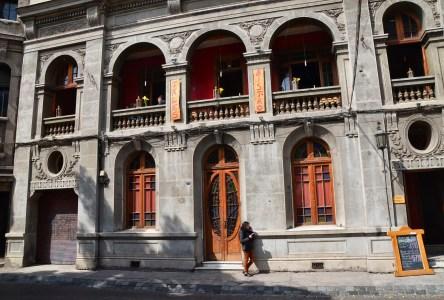 Calle Concha y Toro in Barrio Brasil, Santiago de Chile