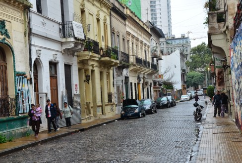 Pasaje San Lorenzo in San Telmo, Buenos Aires, Argentina