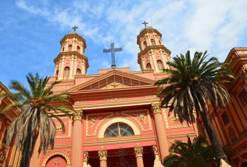 Iglesia de la Preciosa Sangre in Barrio Brasil, Santiago de Chile