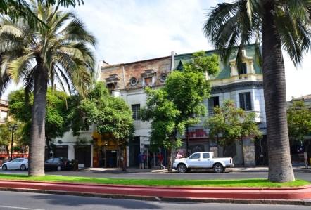 Avenida Brasil in Barrio Brasil, Santiago de Chile