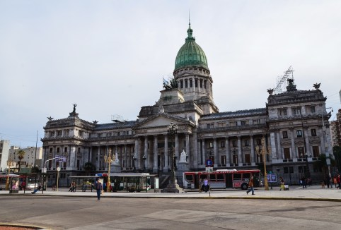 Congreso Nacional in Buenos Aires, Argentina