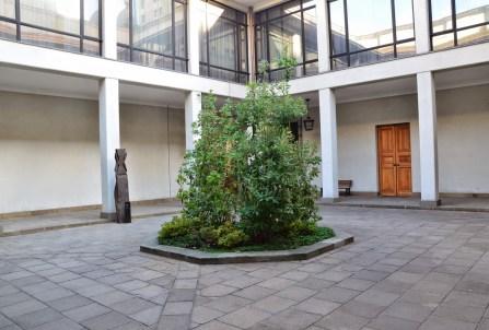 Patio de los Canelos at Palacio de La Moneda in Santiago de Chile