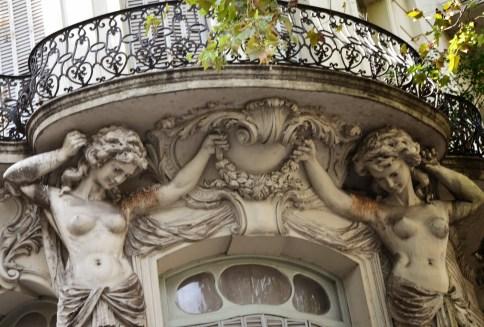 Ex Hotel París in Buenos Aires, Argentina