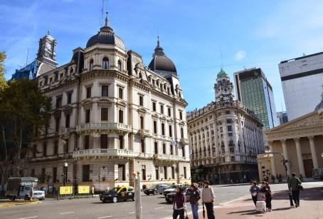 Palacio Municipal de la Ciudad de Buenos Aires at Plaza de Mayo in Buenos Aires, Argentina