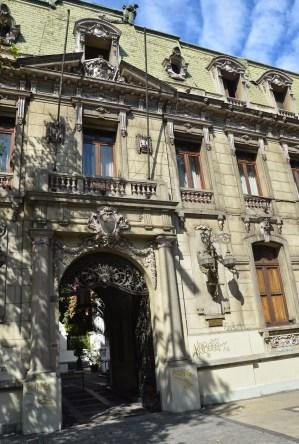 Palacio Irarrázabal in Barrio Dieciocho, Santiago de Chile