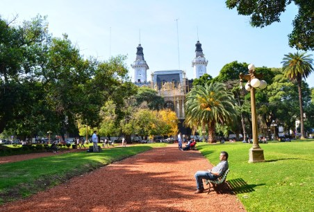 Plaza General Agustín Pedro Justo in Buenos Aires, Argentina