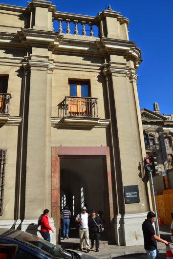 Museo Chileno de Arte Precolombino in Santiago de Chile