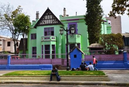Avenida República in Barrio República, Santiago de Chile