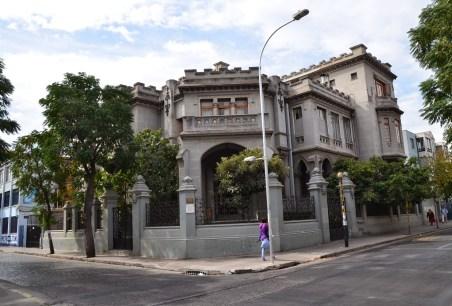 Colegio de Profesores in Barrio Yungay, Santiago de Chile