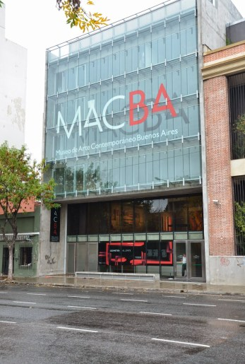 MACBA in San Telmo, Buenos Aires, Argentina