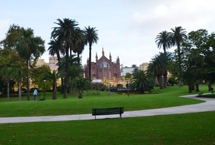 View of Centro Cultural Recoleta in Recoleta, Buenos Aires, Argentina