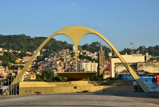 Praça da Apoteose at Sambódromo in Rio de Janeiro, Brazil