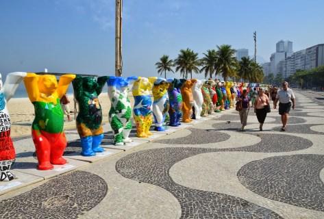 United Buddy Bears in Rio de Janeiro, Brazil