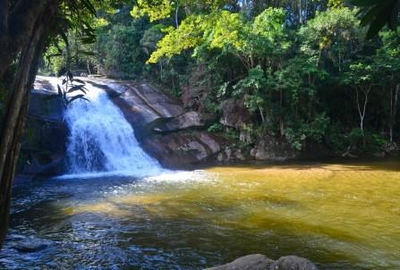 Cachoeira do Prumirim in Ubatuba, Brazil