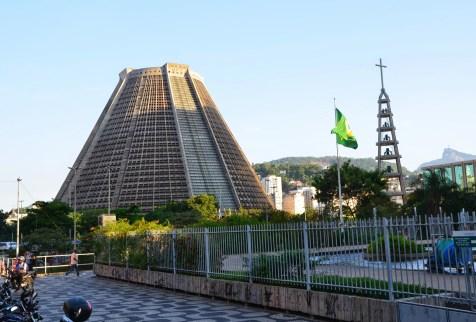 Catedral Metropolitana de São Sebastião in Rio de Janeiro, Brazil