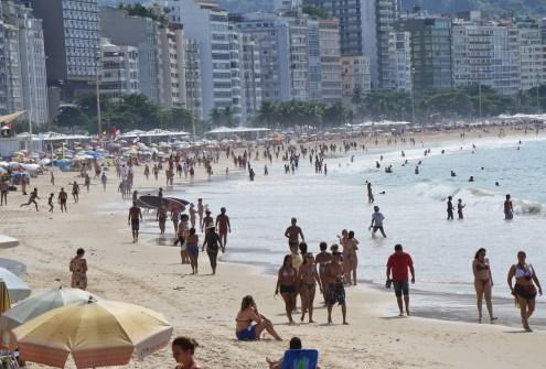 Copacabana in Rio de Janeiro, Brazil