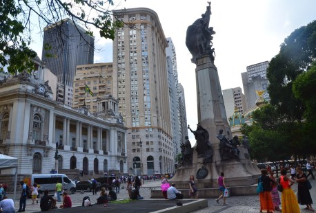 Cinelândia in Rio de Janeiro, Brazil
