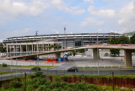 Estádio do Maracanã in Rio de Janeiro, Brazil