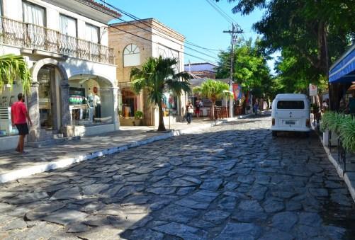 Rua das Pedras in Búzios, Brazil