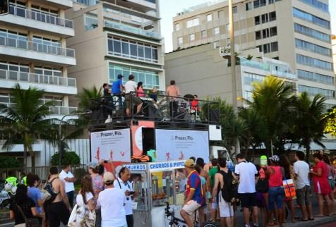 Ipanema in Rio de Janeiro, Brazil
