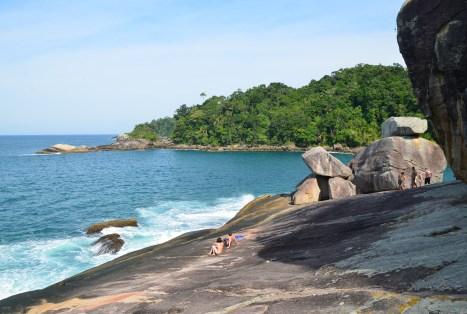 Praia do Caxadaço on Ilha Grande, Brazil