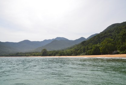 Praia da Parnaioca on Ilha Grande, Brazil